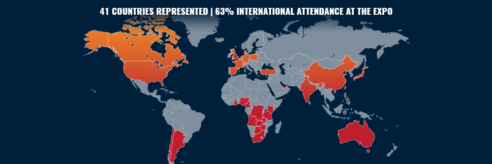 AN INTERNATIONAL EVENT SHINING ON THE WORLD MAP