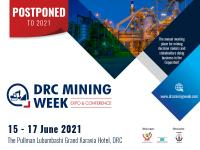 Wide industry support as DRC Mining Week is moved to June 2021