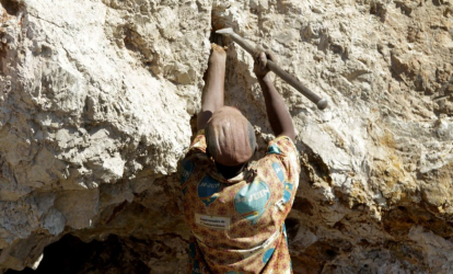 The Democratic Republic of the Congo's cobalt reserves are the largest in the world, and Chinese companies control most of the production. Photo: Reuters